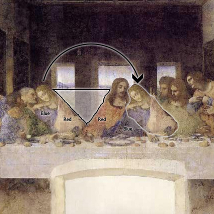 Image Gallery last supper mary magdalene